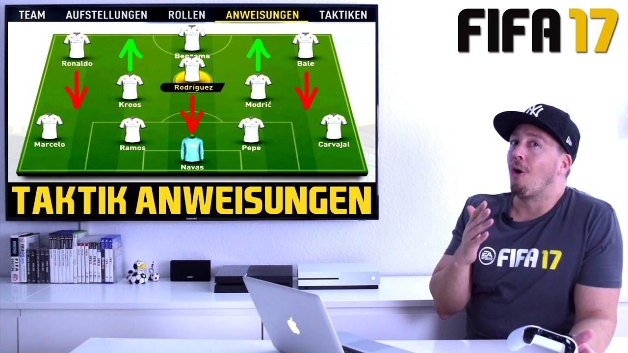 Fifa 17 Taktik Tipps