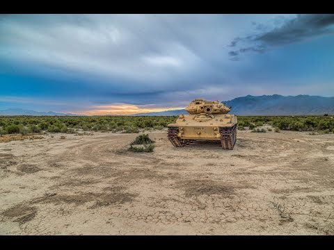 Thumbnail: WE GOT INSIDE! Abandoned Military M551 Light Armor Tank In The Middle Of Nowhere