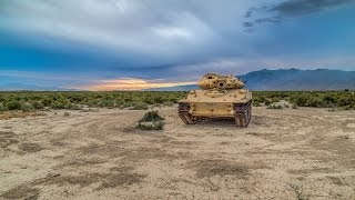 WE GOT INSIDE! Abandoned Military M551 Light Armor Tank In The Middle Of Nowhere