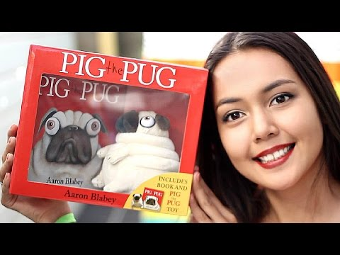 UNBOXING ✉ Scholastic Pig the Pug - Aaron Blabey