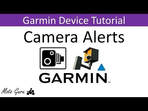 Garmin Speed and Safety Camera Alerts Demonstration