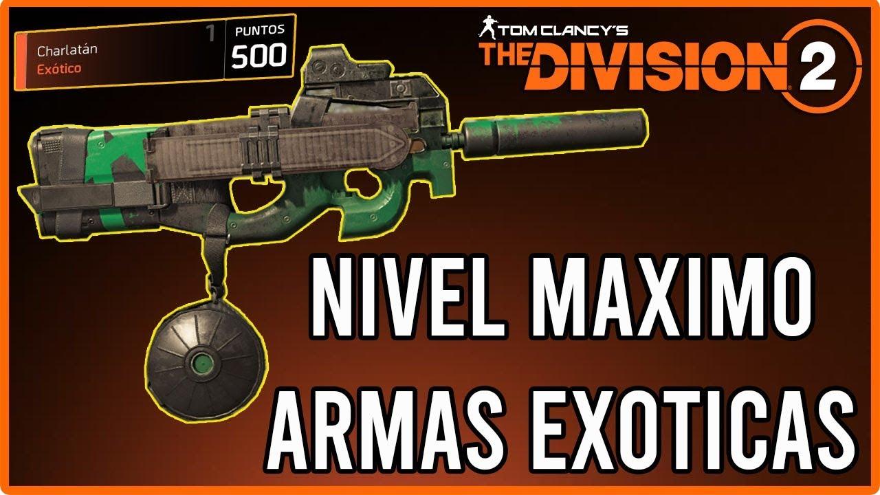 Como subir las armas exoticas al maximo nivel 500 - The ...