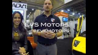 EVS Motors + Melissa Riso @ 2013 Houston Auto Show
