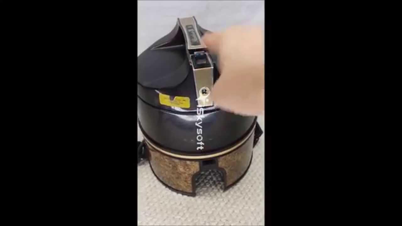 rainbow se d4c vacuum canister vintage youtube rh youtube com