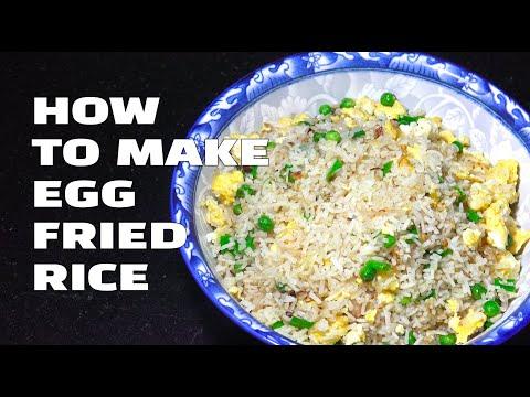 How To Make Egg Fried Rice - Egg Fried Rice Youtube