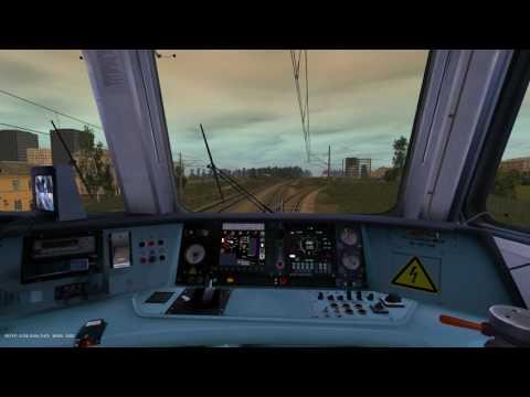 СПБ-Финл. - Зеленогорск на ЭД4М-0481 в Trainz 2012 3.7