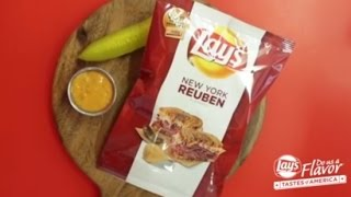 Lay's New York Reuben Review (get Lay's Week)