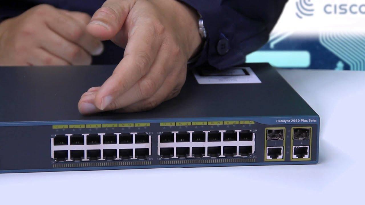 Обзор серии коммутаторов Cisco Catalyst 2960 2960+ на примере  WS-C2960+24TC-L