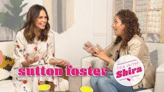 Actor Sutton Foster Designs Corner to Corner Blankets! - Tea with Shira #61