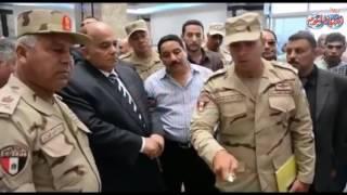 محافظ الدقهلية ورئيس الهيئة الهندسية للقوات المسلحة يتفقدا المستشفي العسكري بمدينة دمياط الجديدة
