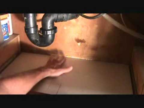 How To Fix A Leak Under A Kitchen Sink...Part 2
