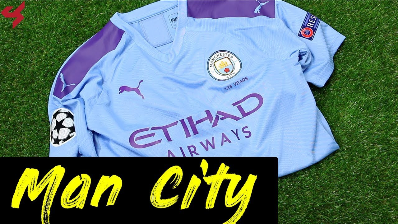 brand new 8f8d6 28ba7 Puma Manchester City De Bruyne 2019/20 Authentic Home Jersey Unboxing +  Review from Subside Sports