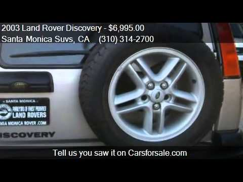 2003 Land Rover Discovery SE7 4WD 4dr SUV for sale in Santa