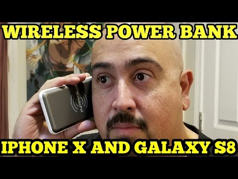 MOBILEPAL QI POWER BANK UNBOXING AND REVIEW | IPHONE X AND GALAXY S8 (2017)