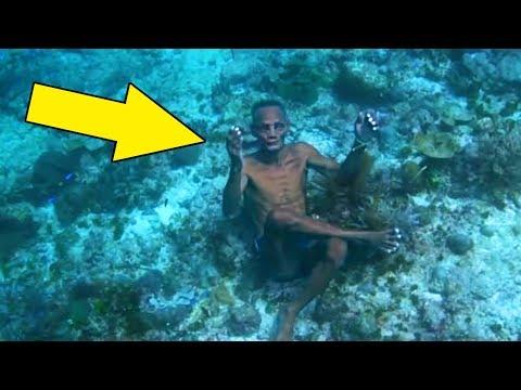 Diese Leute leben im Wasser! Ungewöhnliches Leben von Menschen, von denen niemand wusste!