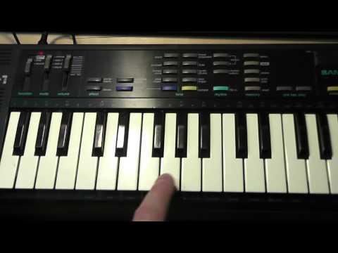 Casio SK-1 & SK-5 Keyboards
