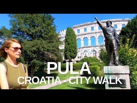 [4K] Pula, Croatia