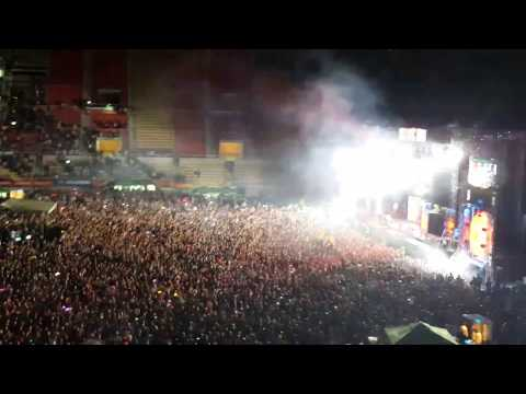 David Guetta live in Skopje 2016 intro - Play hard