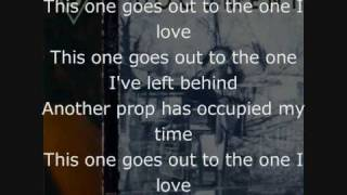 R.E.M - THE ONE I LOVE! LYRICS!! [FROM GUITAR HERO WORLD TOUR]