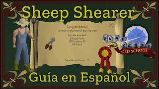 [OSRS] Sheep Shearer Quest (Español)