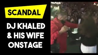 Scandal Dj Khaled & his wife salsa dancing onstage