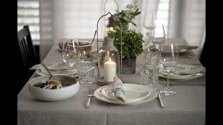 Про очень вкусный и красивый ужин!