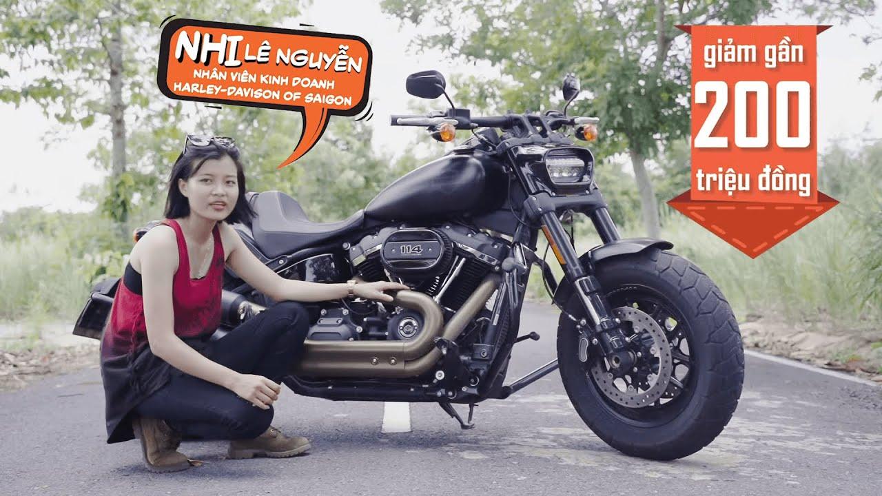 Review xe mô-tô Fat Bob 2019 của Harley-Davidson