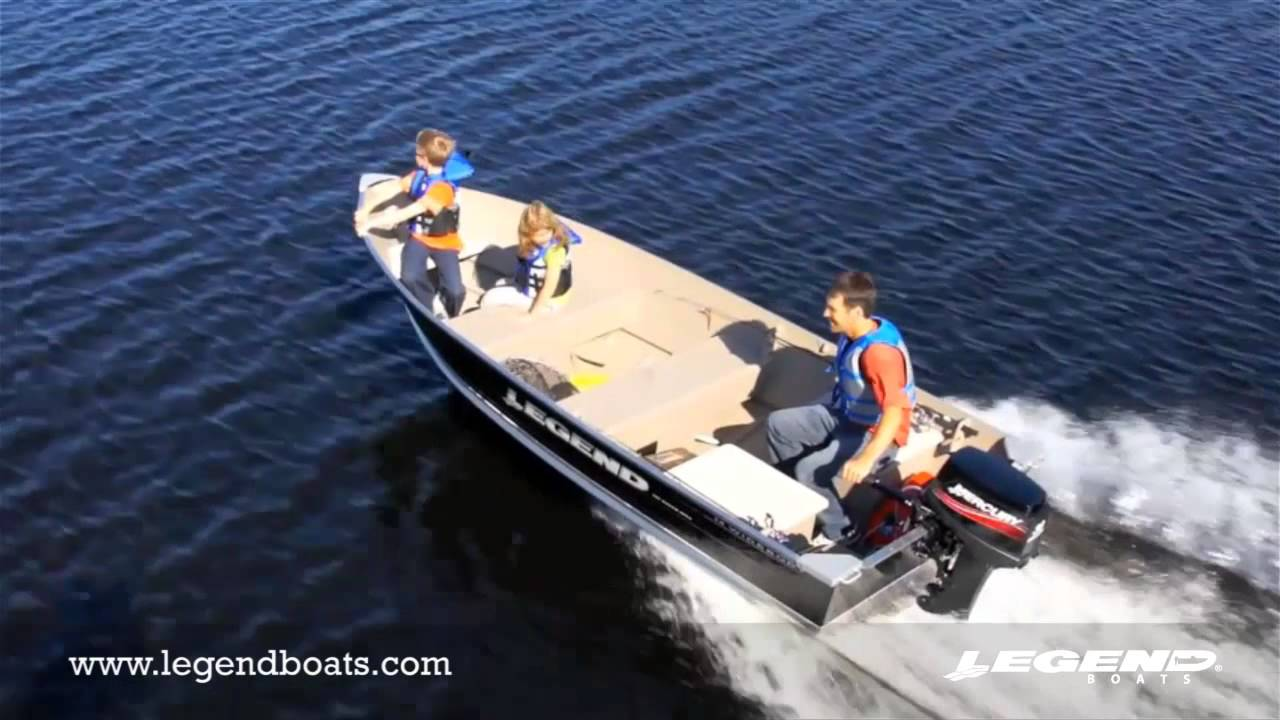 Top Fishing Boats by Legend Boats 14 WideBody - YouTube