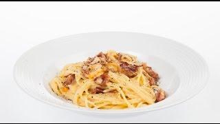 Настоящие спагетти карбонара — без сливок!