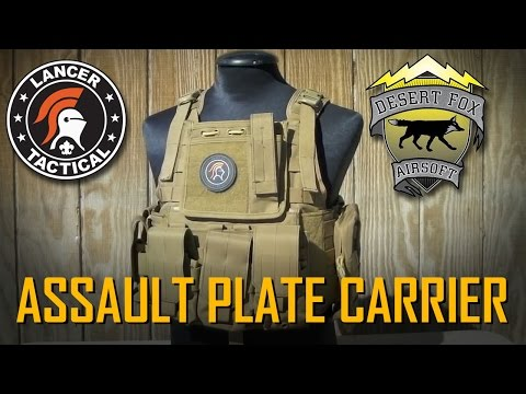 Lancer Tactical - CA-305 Tactical Assault Plate Carrier Vest Review