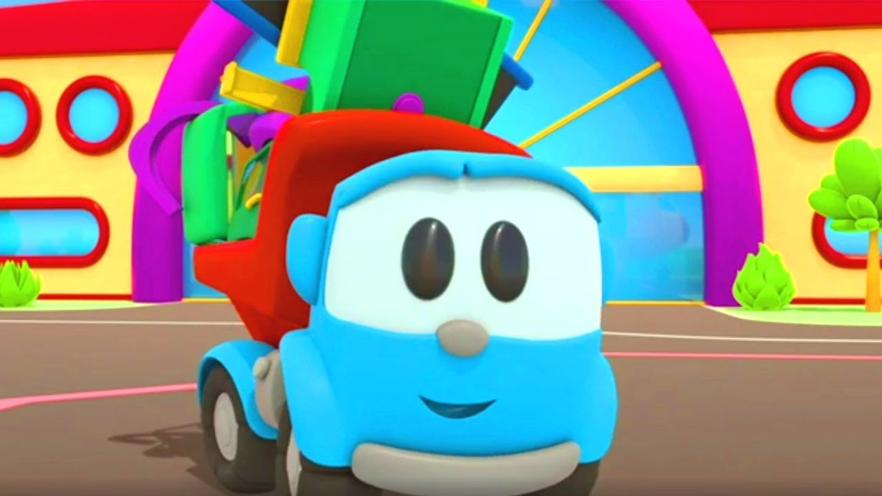 Car cartoon full episodes & learning videos for kids - Leo the Truck and cars for kids.
