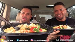 Eating PEI WEI Thai Basil Rice Bowl @hodgetwins