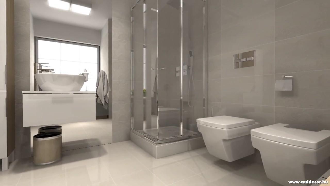 Lakberendezési ötletek - Fürdőszoba 07 - YouTube