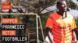 Rapper, Paramedic, Striker | The Unique Ugandan Footballer