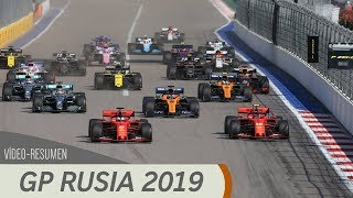 Resumen del GP de Rusia - F1 2019