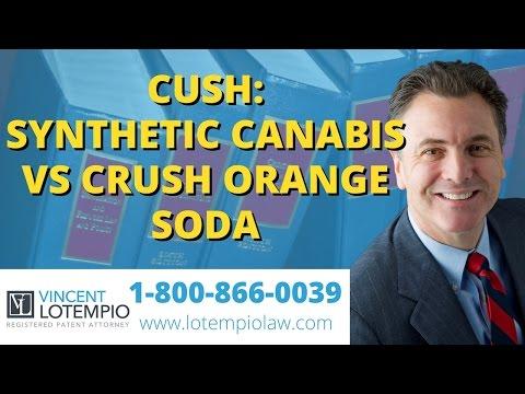 Cush (synthetic cannabis) vs Crush (orange soda): Patent Home