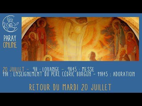 Replay Paray Enseignement du Père Cédric BURGUN