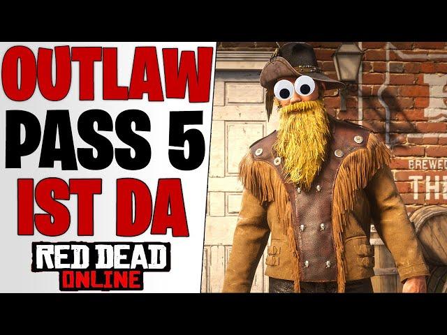 MEGA NEWS? Outlaw Pass 5 IST DA - Lohnt er sich? ALLE INHALTE | Red Dead Redemption 2 Online Update