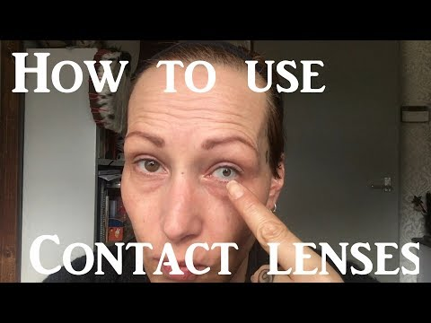 Tutorial: How to apply and remove contact lenses, even if you have long nails!