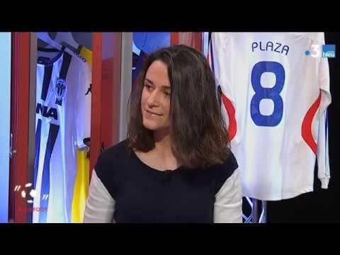 """#USBFOOT : Mélissa Plaza, ancienne joueuse professionnelle et internationale invitée d' """"une semaine en ballon"""""""