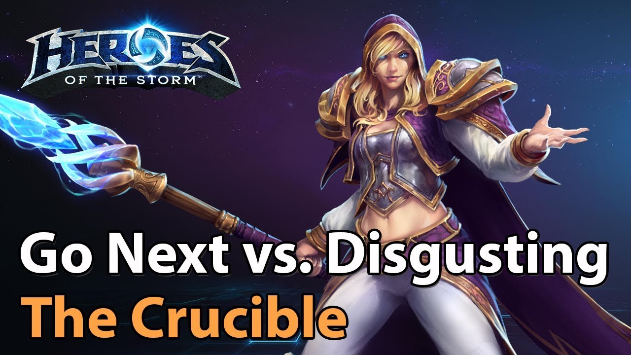 ► Division S Crucible - Go Next vs. Disgusting - Heroes of the Storm Esports