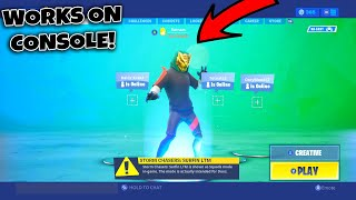 How Anyone Can Create There Own Skin in Fortnite (FREE SKINS) *WORKS ON CONSOLE*