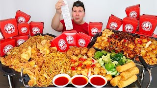 $100 Worth of Panda Express • MUKBANG