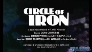 Circle of Iron - Movie Trailer - Blue Underground