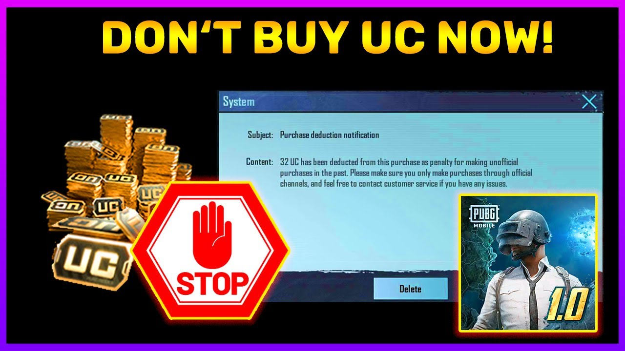 Uc Buy Mat Karo Pubg Mobile Mein || All Reasons Explained In Detail. (Hindi)