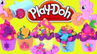 Пластилін Плей До Пластилін Play Doh для Дітей | #ЛІПИМО КАПКЕЙКИ РАЗОМ З #ПОНІ ПІНКІ ПАЙ