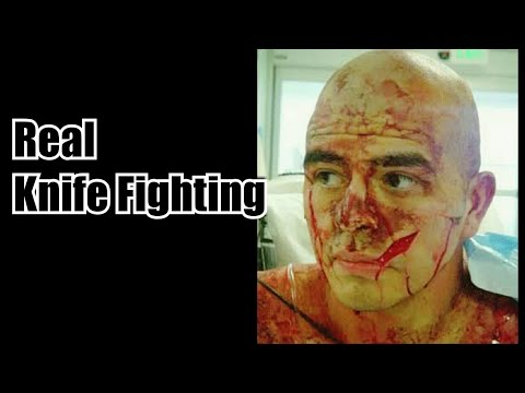 The Effects Of A REAL Cut! - EDC Knife Fighting!