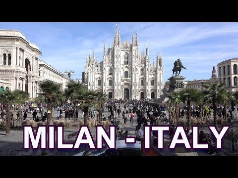 MILAN - ITALY 2019 4K