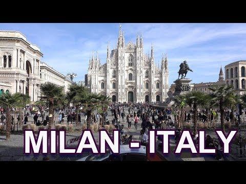 MILAN - ITALY 4K