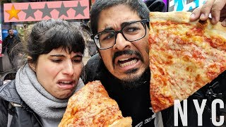 Eating the Worst Rated Pizza in New York City